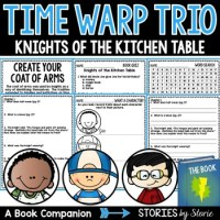 Time Warp Trio: Knights of the Kitchen Table Book ...
