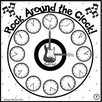 Telling Time Bingo: Telling Time Game by Keep 'em Thinking