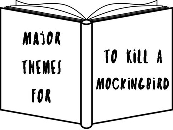 To Kill A Mockingbird Theme Posters with Quotes! by Lit