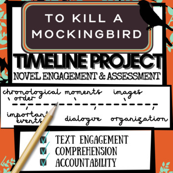 To Kill a Mockingbird Novel Study Activity: