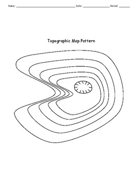 Topographic Maps Activity and Worksheet by Becker's