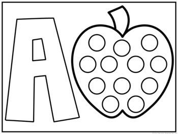 Tot School: Apples {Plans and Printables} by Mrs Plemons
