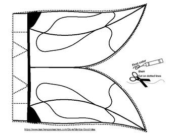 Toucan Paper Bag Puppet
