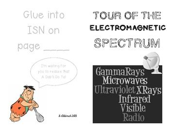 Tour of the Electromagnetic Spectrum booklet for