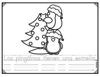 Trace Sentences December traza oraciones diciembre by