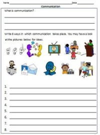 Transport and Communication- Worksheets for Grade 3 & 4 by ...