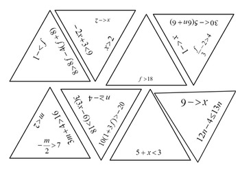 Triangle Puzzle on Solving Inequalities by 4 the Love of