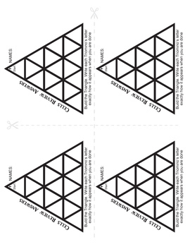 Triominos Puzzle ~CELLS REVIEW~ Biology by Teamwork