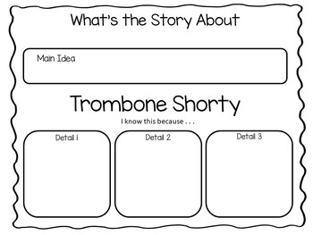 Trombone Shorty ~ 35 pgs Common Core Activities by Fun to
