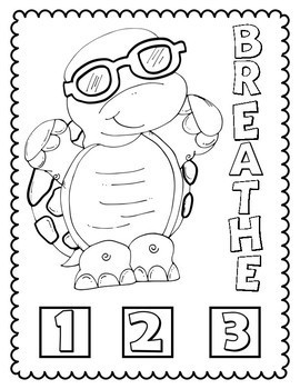 Tucker Turtle: Youth Coloring Pages by Positive Counseling