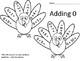 Turkey Addition Worksheets Adding 0-10 Common Core Aligned