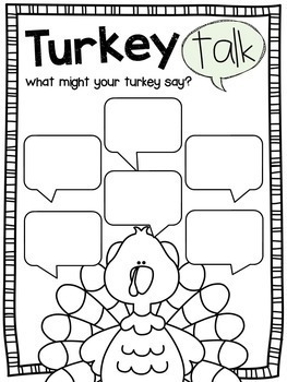 Turkey Trouble: A Persuasive Writing Mini Unit by Ginger