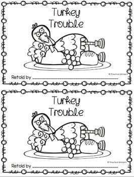 Turkey Trouble Book Companion-Retelling Pack by Preschool