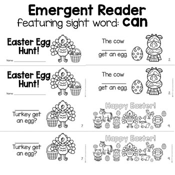 Turkey's Eggcellent Easter- Literacy Activities by Sweet