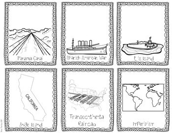 Turn of the Century Trading Cards: inventions, imperialism