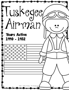 Tuskegee Airman Research Report Bundle by The Kennedy