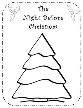Twas the Night Before Christmas Activity and Keepsake Book