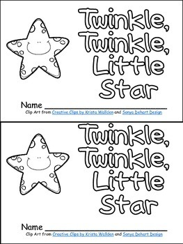Twinkle, Twinkle Little Star Book, Poster, & MORE