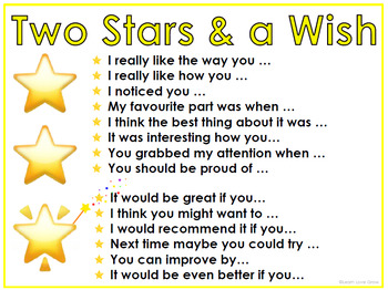 Two Stars And A Wish Display Posters Freebie Aussiebts By Learn Love Grow