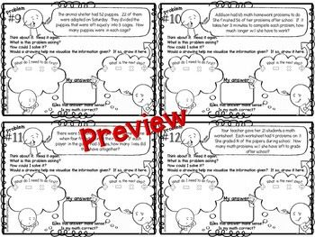 Two Step Word Problems Multiplication and Division by
