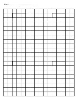 Two and Three Digit Long Division on Graph Paper by Hope