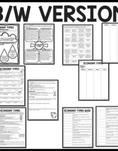 Economy types tutorial command market mixed traditional worksheets chart also rh teacherspayteachers