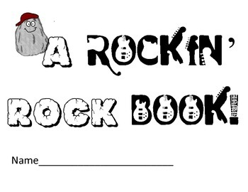 Types of Rock Book: Notes, Rock Cycle, Stations, Centers