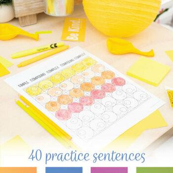 Color by Grammar: Simple, Compound, Complex, Compound