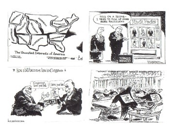 US Government/AP US Government Political Cartoons About
