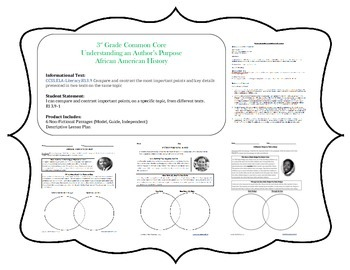 Comparing Informational Texts Lesson Plan by Mack
