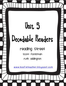 Unit 5 Fluency Passages for Decodable Readers Reading