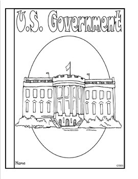 United States Government Three Branches (Task Cards