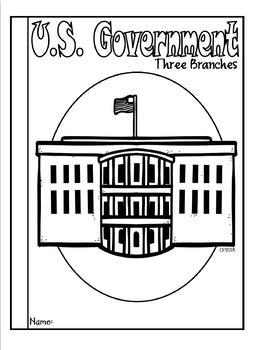 United States Government Three Branches Tab Booklet by