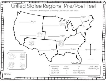 United States Regions {Fun activities for teaching about U