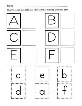 Alphabet Recognition Worksheets. Worksheets