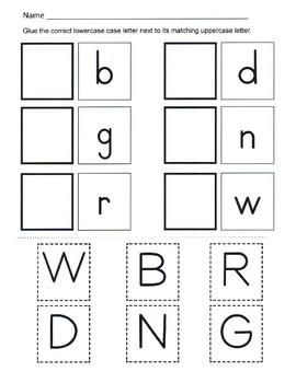 Alphabet Recognition / Uppercase and Lowercase Alphabet