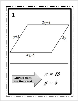 Using Algebra in Geometry-Parallelogram Walk-Around