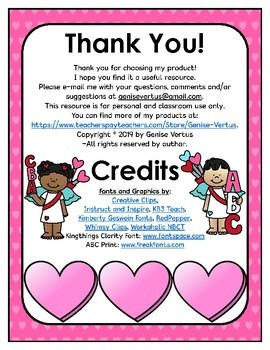 Thank You In Creole : thank, creole, Valentine's, Activities, Haitian, Creole, (BUNDLE), Genise, Vertus