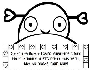 Valentines Day Math Craft: Multi-Step Word Problem
