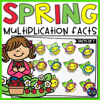 Spring Multiplication Worksheets For 3rd Grade