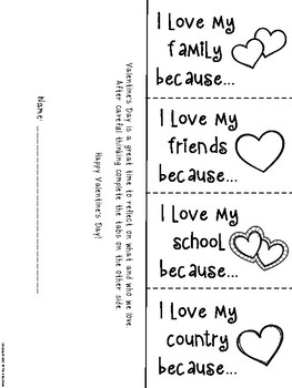 Valentine's Day Foldables and Bookmarks by The Busy Class