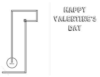 Valentine's Day Cards with Paper Light Circuits by