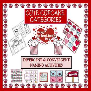 Valentine S Day Cute Cupcake Categories Divergent
