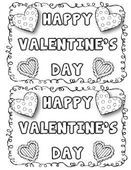 Valentine's Day Fun {Valentine's Day Love Mini Book} by