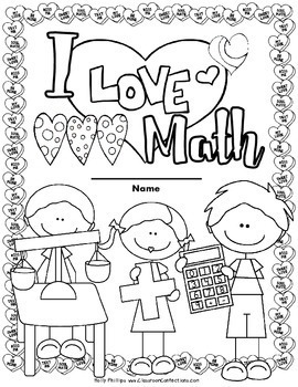 Valentine's Day Math: Worksheets: 4th Grade by Elementary
