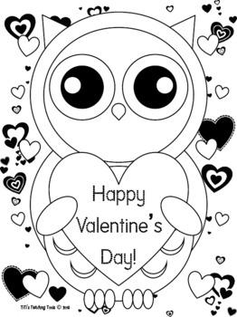 owl color pages # 69