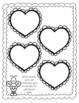 Valentine's Day Writing Prompts: Grades 1-2 by Lifelong