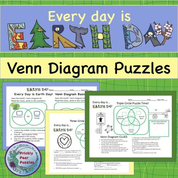 venn diagram puzzles 2002 ford taurus ses stereo wiring earth day puzzle diagrams critical thinking graphs