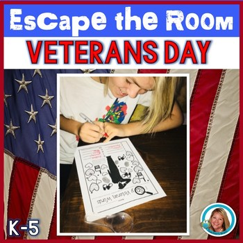 Veterans Day Activities - ESCAPE ROOM