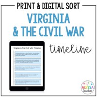 Civil War Timeline Worksheet